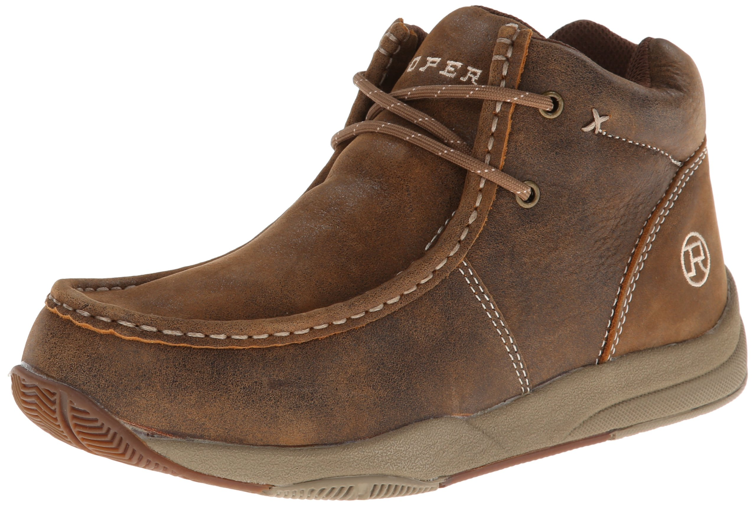 Roper Men's Boat Chukka Boot,Tan,9.5 M US