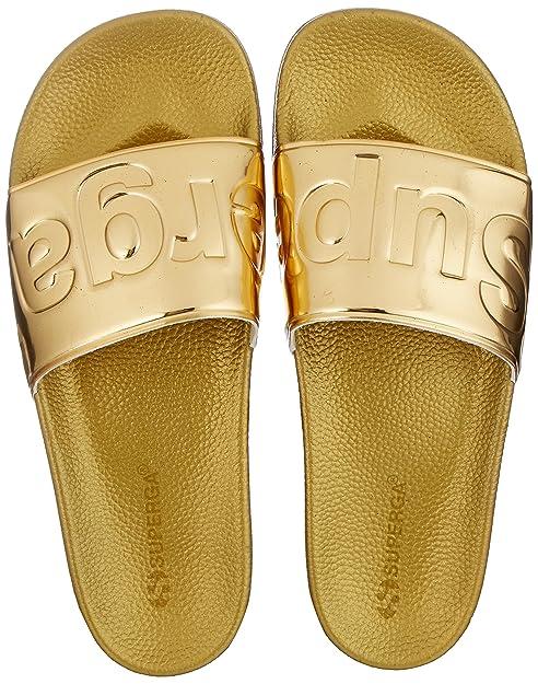 Superga Slides Metallic, Mocasines Unisex Adulto: Amazon.es: Zapatos y complementos