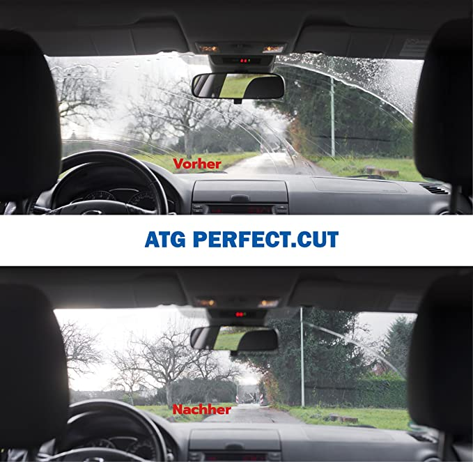 Recortador Universal limpiaparabrisas de ATG Perfect.Cut I Cortador Limpiaparabrisas I Repara Escobilla limpiaparabrisas rápida y fácilmente I Accesorios ...