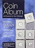 Coin Album: 60 Pockets for Coin Storage