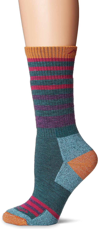 Womens Green Large Darn Tough Gatewood Boot Sock