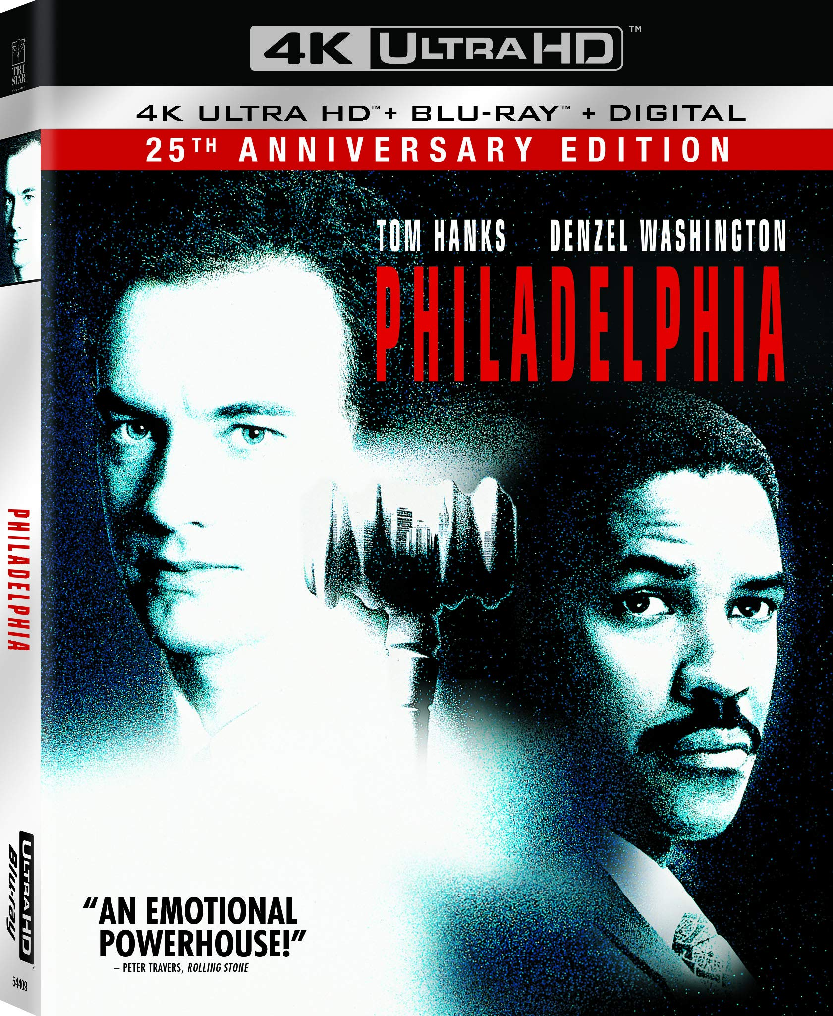 4K Blu-ray : Philadelphia (25th Anniversary Edition) (With Blu-ray, 4K Mastering, 2 Pack, Subtitled, Digital Copy)
