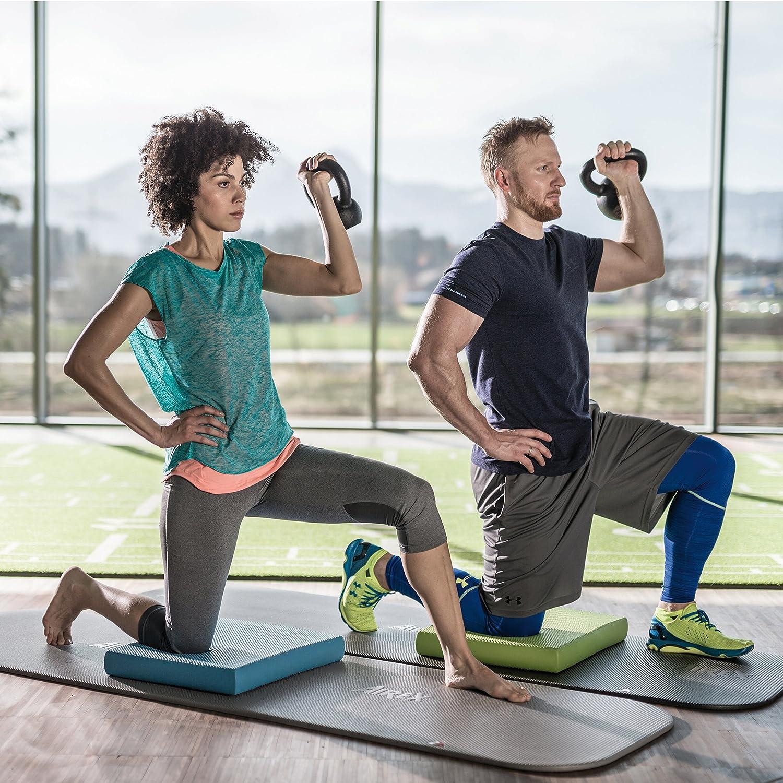 Almohadilla para Fitness Color Azul Airex prevenci/ón y rehabilitaci/ón de Lesiones