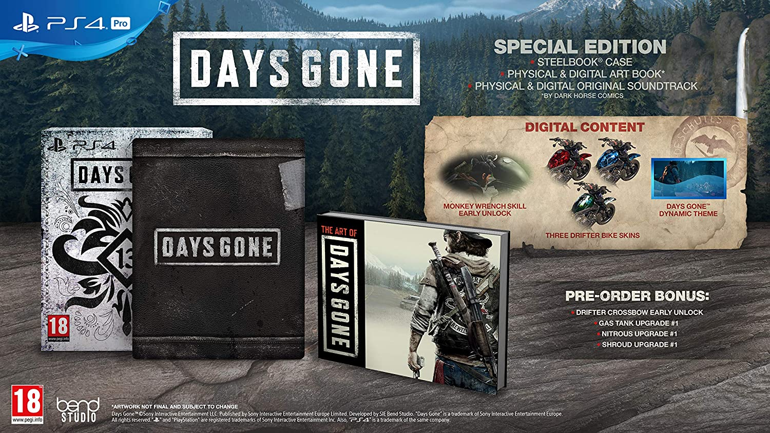 Days Gone Special Edition (PS4): Amazon co uk: PC & Video Games