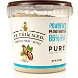 PB Trimmed PURE 100% Premium Powder Peanut Butter 1 LB Container, NOTHING ADDED, No Sugar, No Salt