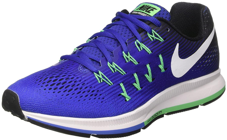 Nike Men's Air Zoom Pegasus 33 B01H2MDQ9U 12 D(M) US|Concord/White-black-electric Green