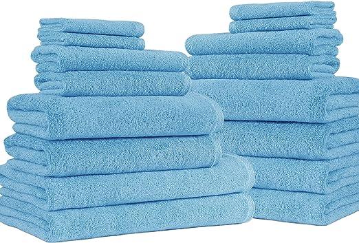 550gsm Plain Facecloth 100/% Cotton White Bath Towel Bath Sheet Hand Towel