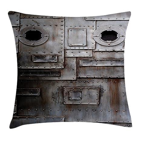 Pillow hats Funda de cojín Industrial de Hierro Oxidado con ...