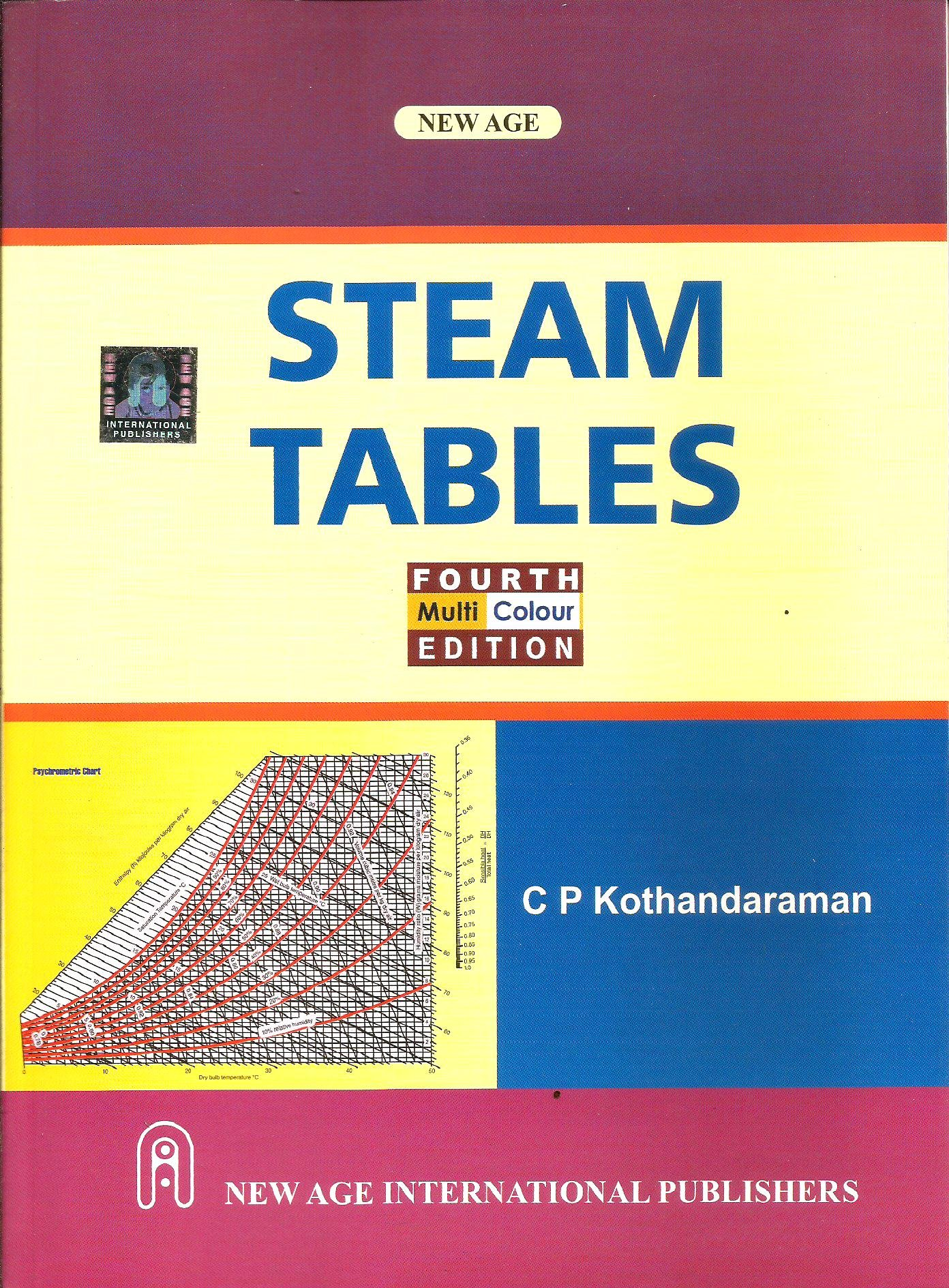Buy Steam Tables Multi Colour Edition Book Online At Low Prices In