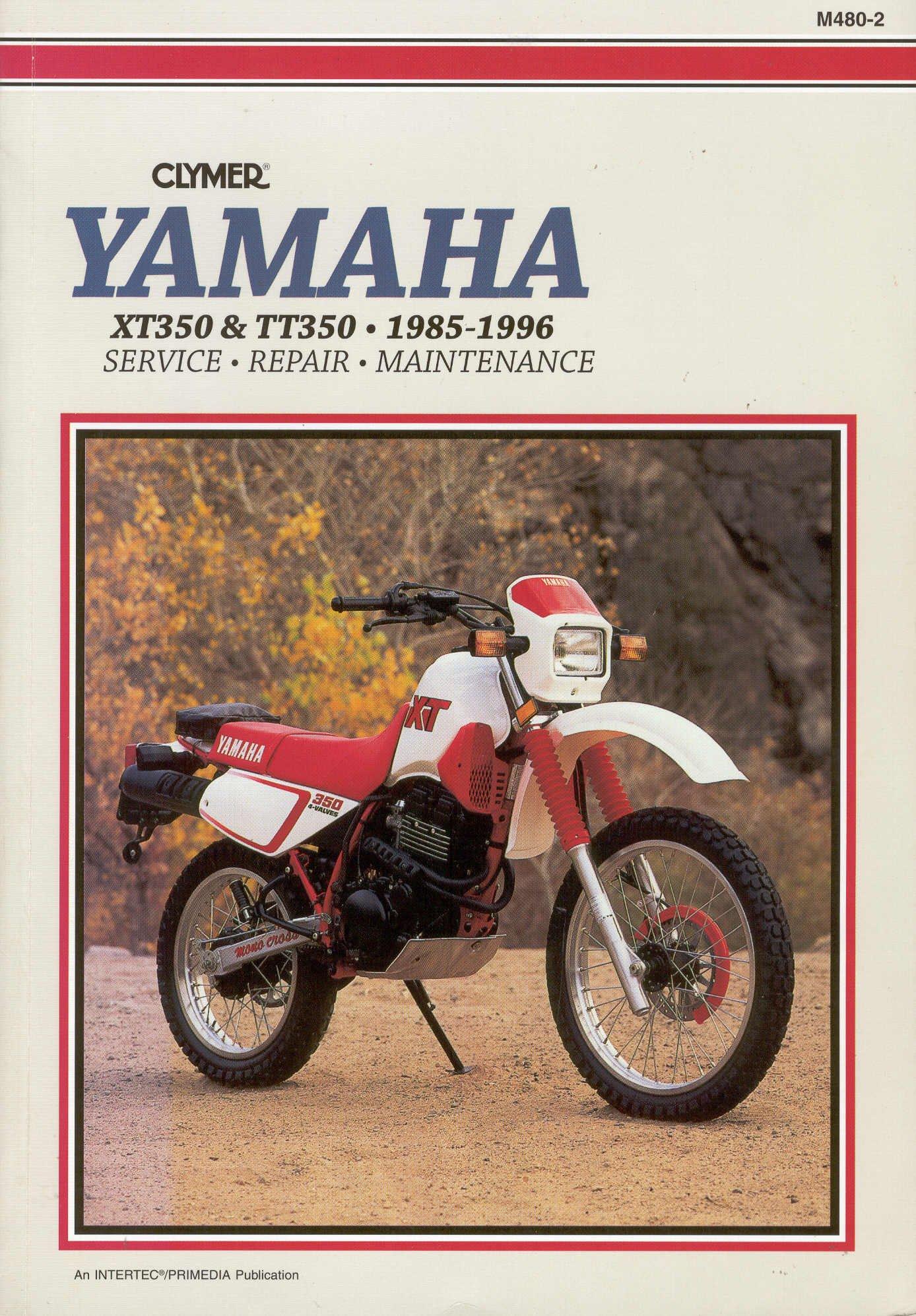 Yamaha XT/TT 350, 1985-1996: Service, Repair, Maintenance: Ron Wright:  9780892876990: Amazon.com: Books