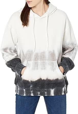 The Drop Women's Tatyana Long-Sleeve Pullover Hoodie Fleece Sweatshirt