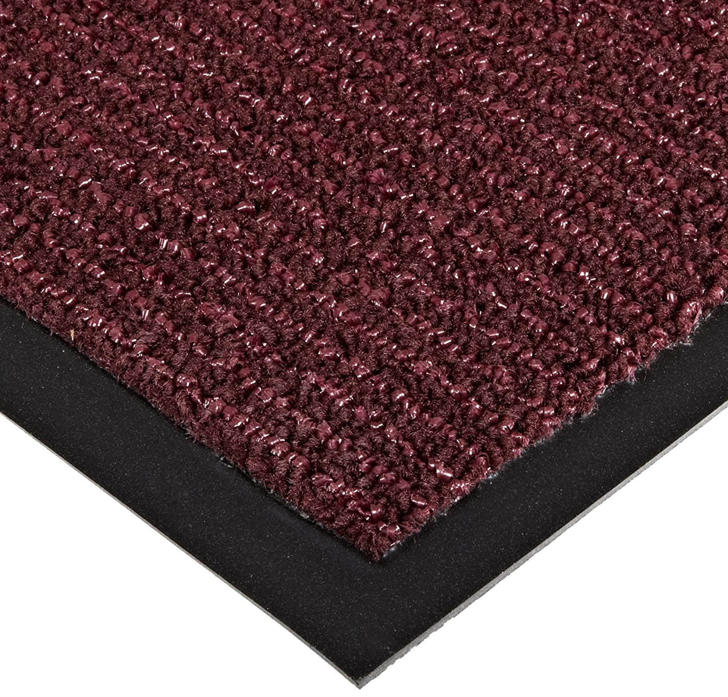 Notrax 146 Encore Entrance Mat for Inside Foyer Area 3 Width x 6 Length x 5//16 Thickness Black 3/' Width x 6/' Length x 5//16 Thickness Superior Manufacturing