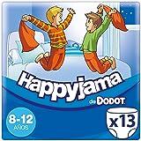 Dodot Happyjama - Pañales para niños de 8-12 años, tipo ropa interior absorbente, 13 unidades