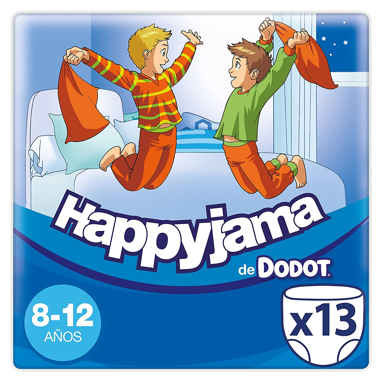 Dodot Happyjama - Pañales para niños de 8-12 años, tipo ropa interior absorbente, 13 unidades: Amazon.es: Amazon Pantry