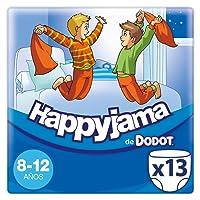 Dodot Happyjama - Pañales para niños de 8-12 años, tipo ropa interior absorbente