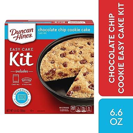 Amazon Com Duncan Hines Easy Cake Kit Chocolate Chip Cookie Cake