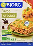 Autres légumes en conserve - BJORG Farce aux Olives Bio 220g