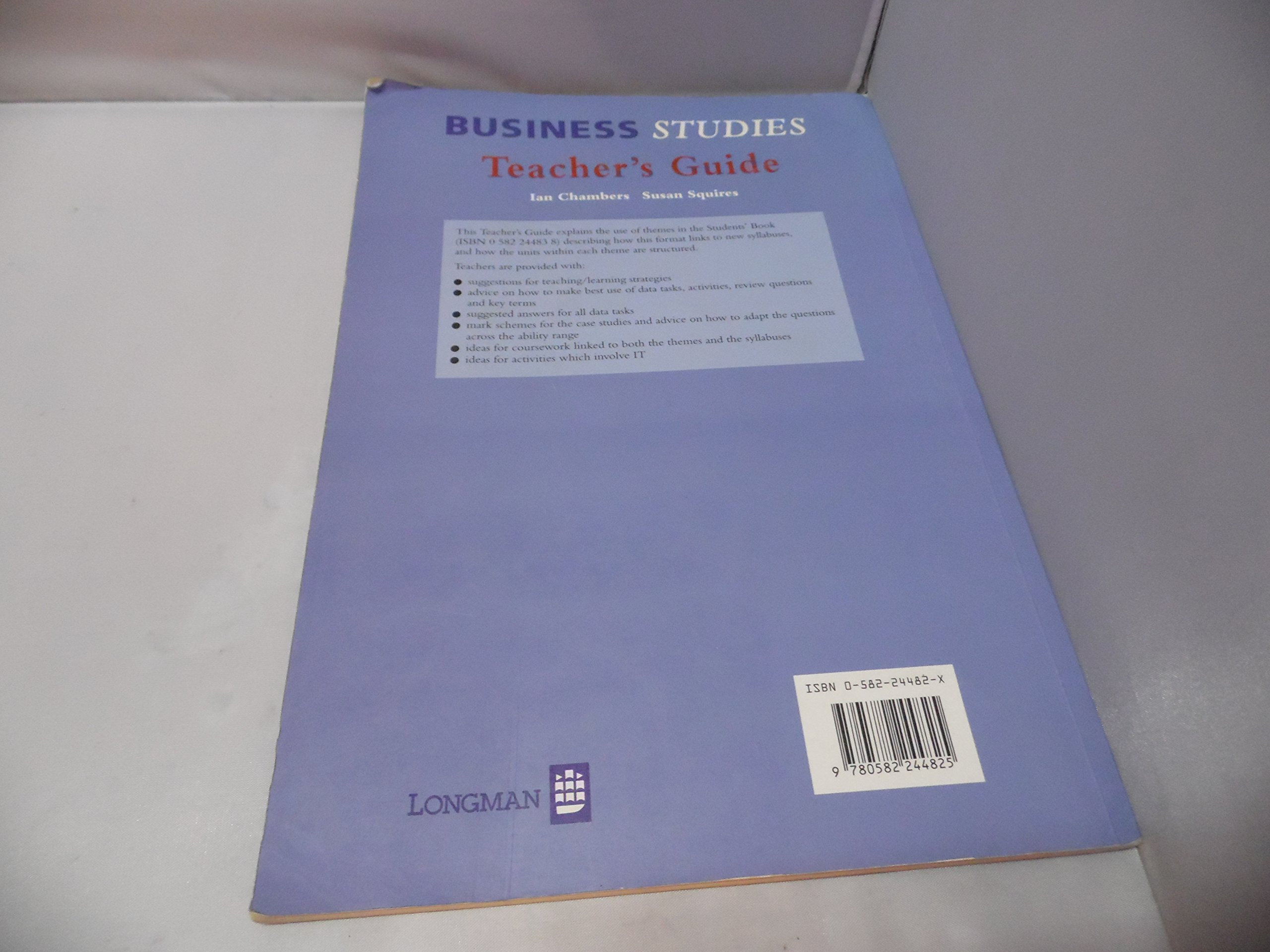 Business study guide teacher edition take a look inside array business studies teacher u0027s guide susan squires ian chambers etc rh amazon com fandeluxe Image collections