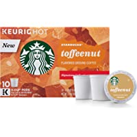 Starbucks Toffeenut Keurig Pods Flavored Coffee