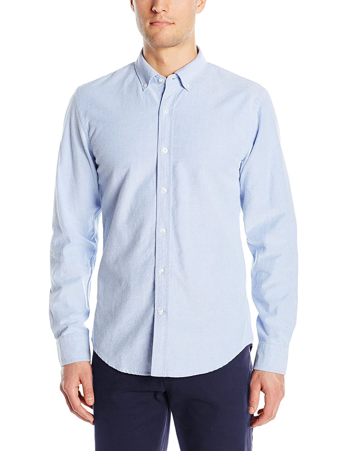 Images of mens pale pink shirt best fashion trends and for Men oxford slim fit long sleeve shirt