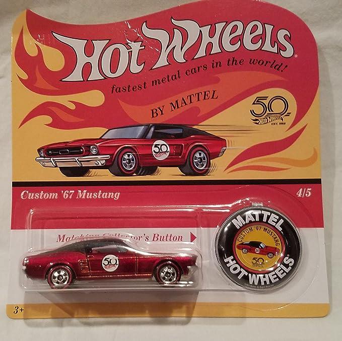 Amazon com: Complete Set Hot Wheels 50th Anniversary