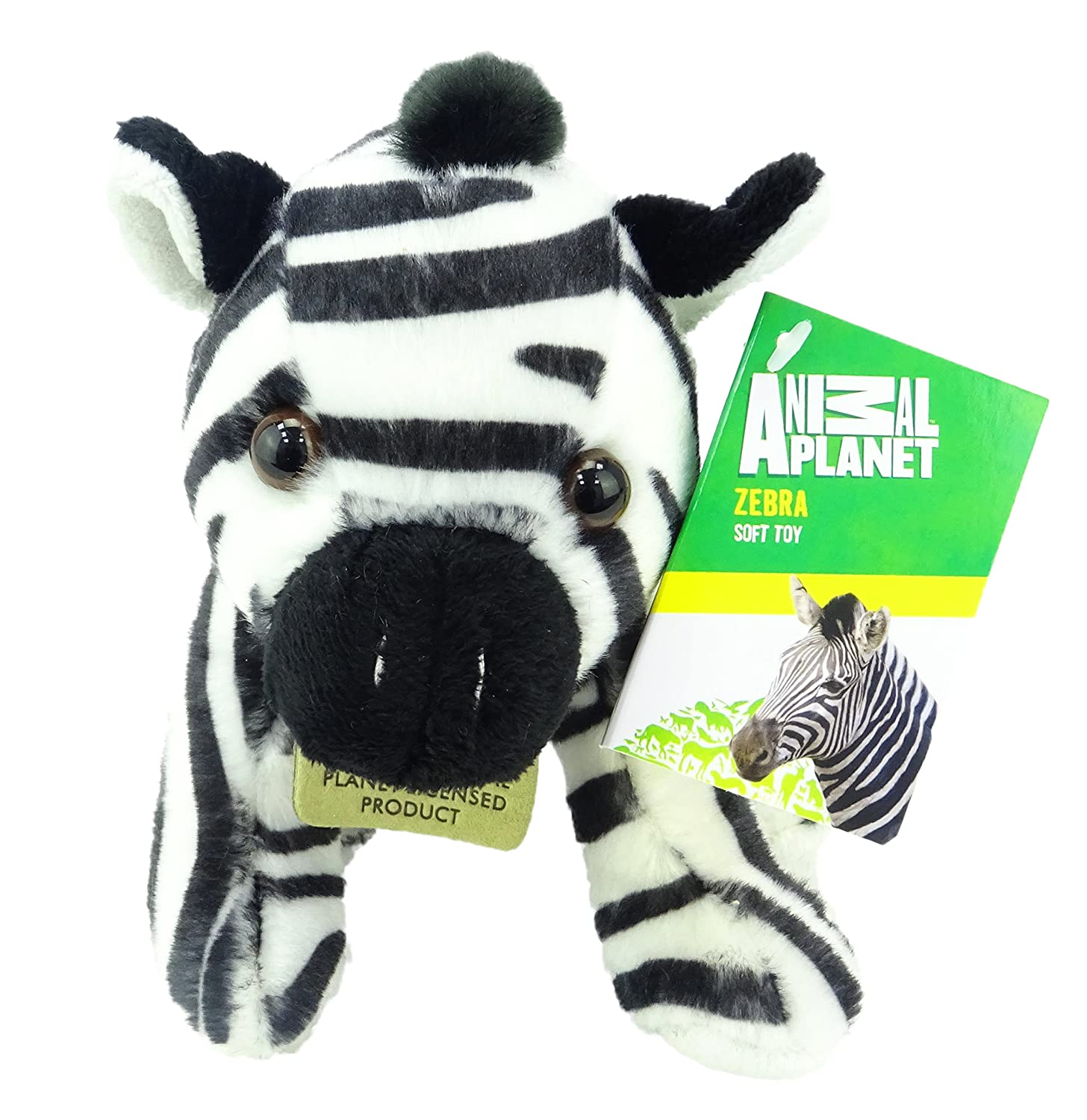 Animal Planet Jungle Cubs - 15cm Zebra Suave Peluche de Juguete: Amazon.es: Juguetes y juegos