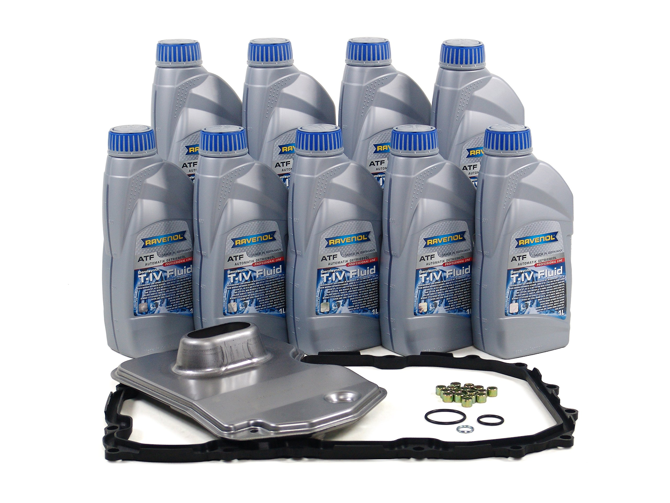 BLAU F2A1020-C Porsche Cayenne ATF Automatic Transmission Fluid Filter Kit - 2003-10 w/ 6 Speed Tiptronic by Blau