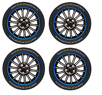 Hub Caps Cover Set of 4 XtremeAuto/® Car 13 Wheel Trims