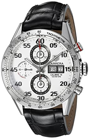 tag heuer menu0027s carrera calibre 16 swiss automatic chronograph watch