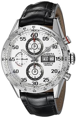 TAG Heuer Carrera - Reloj (Reloj de pulsera, Masculino, Acero, Acero inoxidable