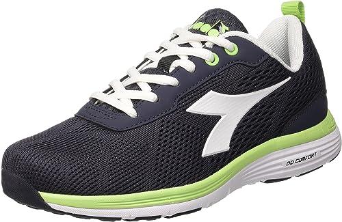 Diadora Swan + W, Zapatillas de Running para Mujer, C0641 Negro Blanco, 40.5 EU: Amazon.es: Zapatos y complementos