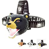 Sun Company Bear LED Headlamp - Bear Headlamp for Kids | Multiple Styles Available | Toy Head Lamp for Boys, Girls, or Adults