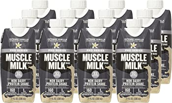12-Count Muscle Milk Intense Vanilla Pro Series Protein Shake