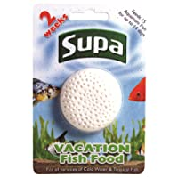 Supa Vacation Fish Food, 14 Days, Pack of 6