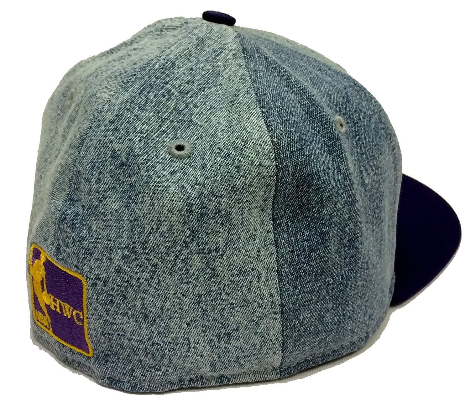 Amazon.com: New Era 59Fifty Denim Grunger Los Angeles Lakers Blue & Purple Fitted Cap: Clothing