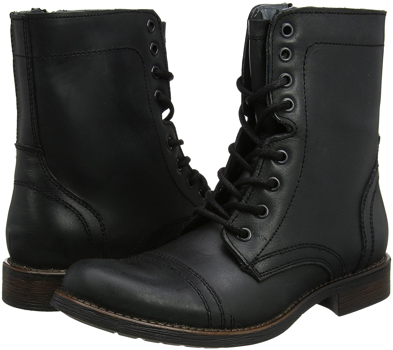 STEVEN by Steve Madden Steve Madden Footwear Troopah2 Lace Up, Bottes Homme, Noir (Black), 42 EU