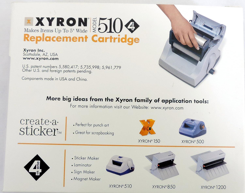 Amazon com: Xyron 510 Sticker Maker Laminator Bundle