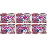 O-Cel-O Non-Scratch Scrub Sponge, 2-Count (Pack of 6) Total 12 Scrub Sponges [Color May Vary]