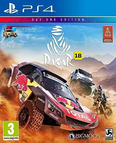 Deep Silver Dakar 18 Básico PlayStation 4 Alemán vídeo - Juego ...