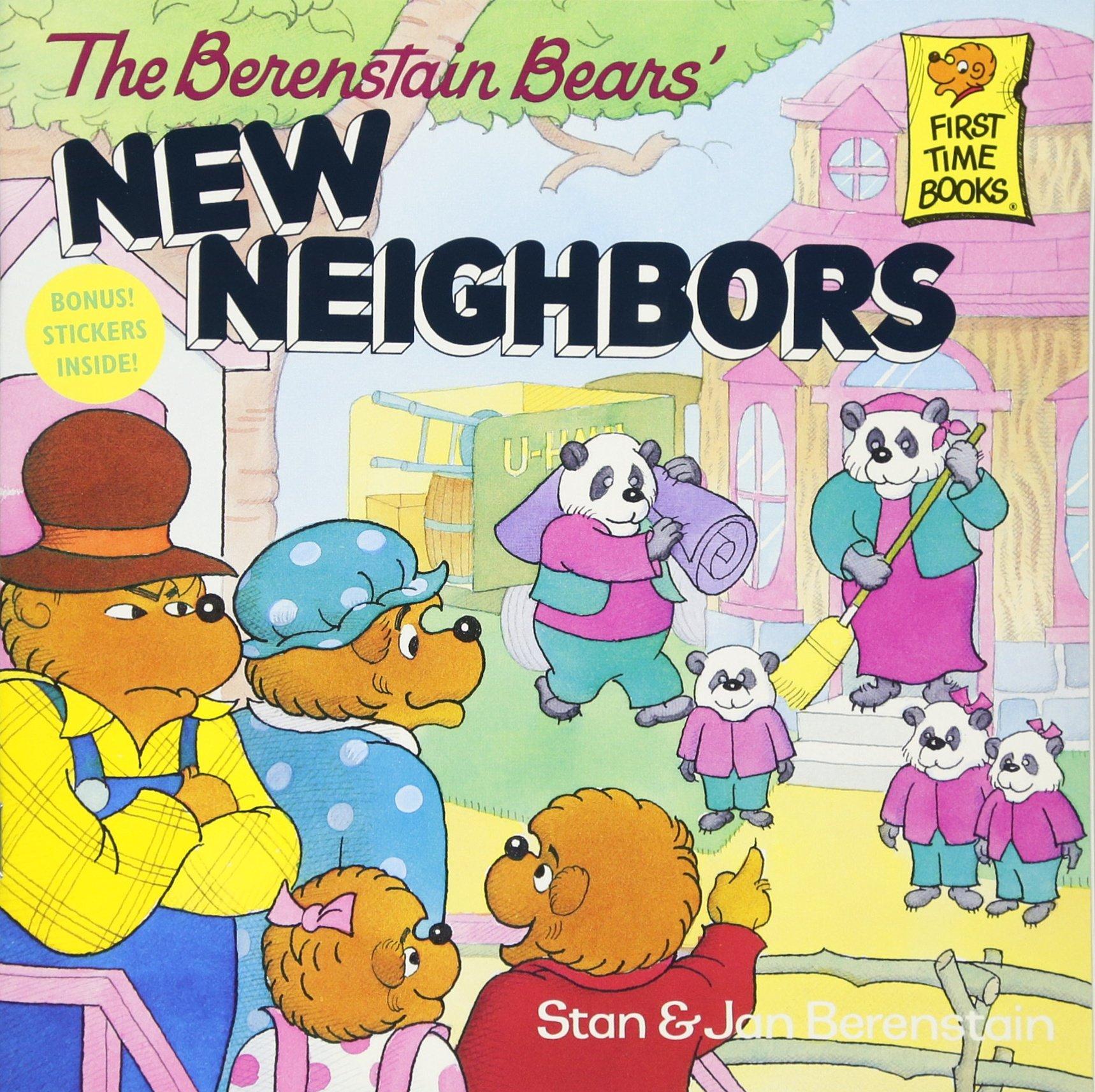 The berenstain bears new neighbors stan berenstain jan berenstain 8601422603163 amazon com books