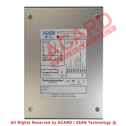 ACARD ARS-2100 WINDOWS 7 64BIT DRIVER