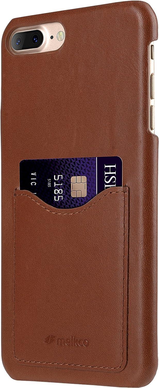 Melkco Premium Leather Card Slot Snap Cover for Apple iPhone 8 Plus/iPhone 7 Plus (5.5