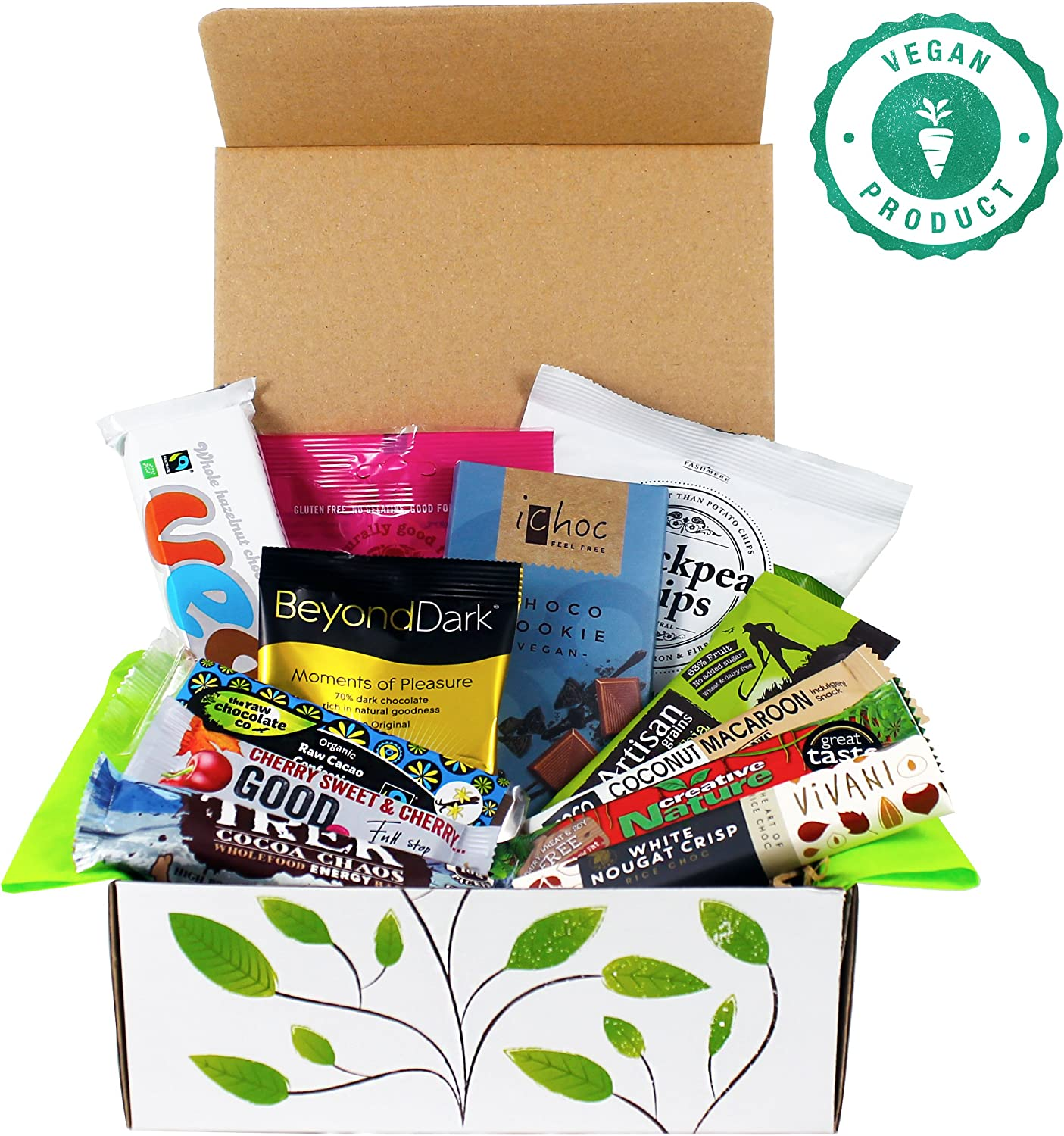 Vegan Chocolate & Snack Hamper Gift Box