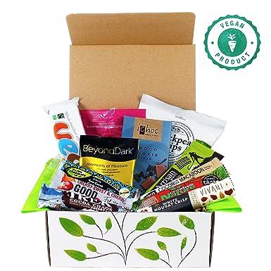 Vegan chocolate and snack treat hamper gift box amazon grocery vegan chocolate and snack treat hamper gift box negle Images