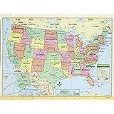 US/World Notebook Map