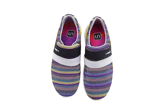 a4e63bb478a0eb UIN Damen Porto Komfort Farben Walking Schuhe  Amazon.de  Schuhe    Handtaschen