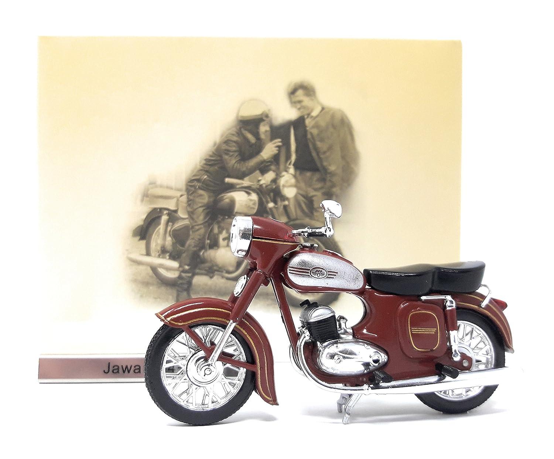 Jawa 354-04 Maßstab 1:24 Motorrad Modell von Atlas