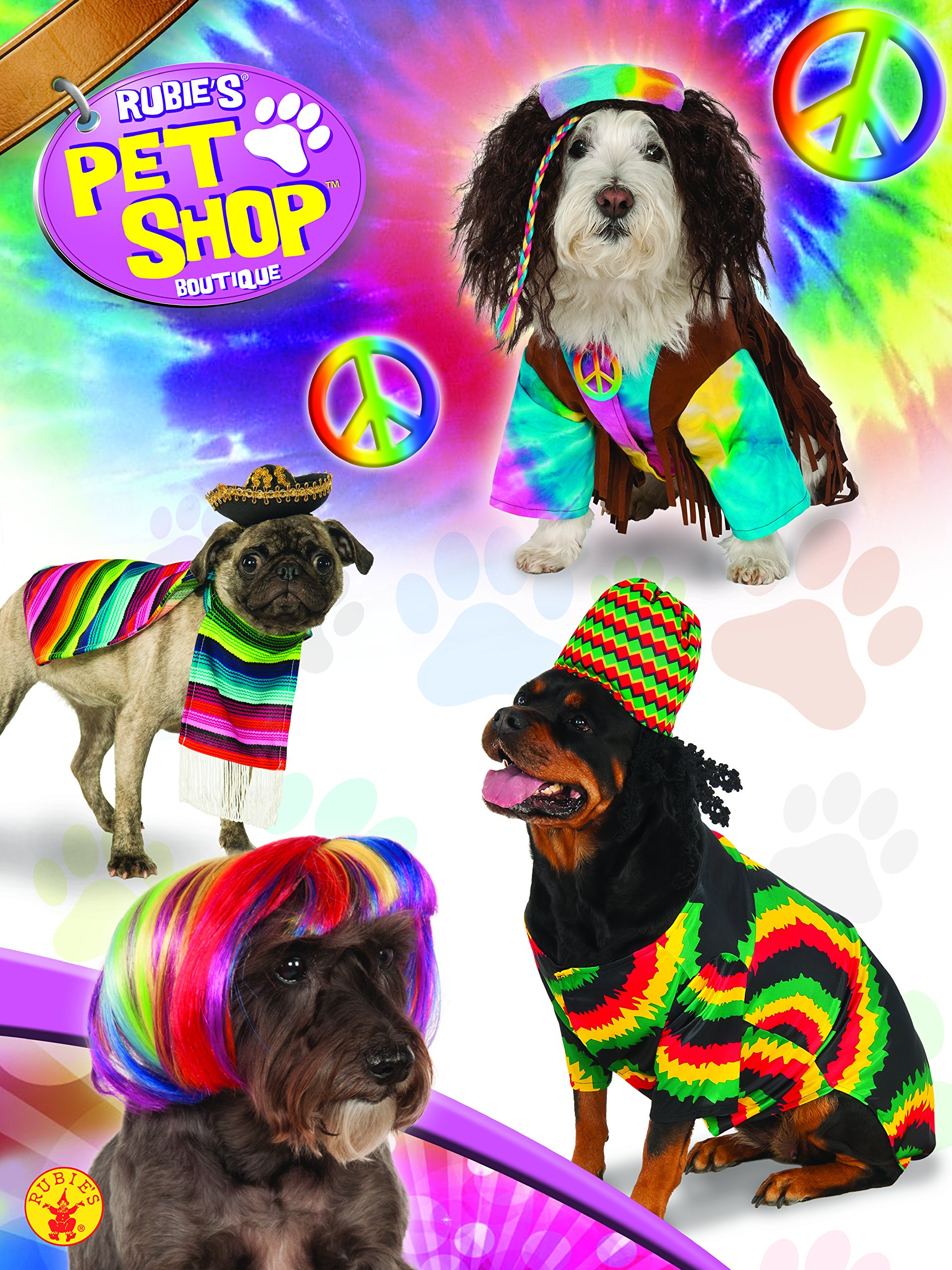 Rubie's Pet Costume, Large, Mexican Serape by Rubie's (Image #3)