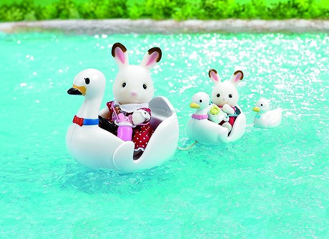Sylvanian Families 5046 Swan Boat Set Baby Products Multicolor Epoch