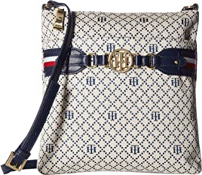 Tommy Hilfiger Womens Brice Large North/South Crossbody